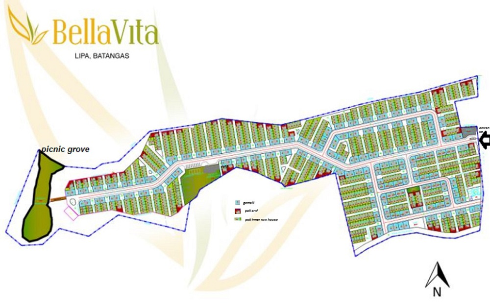 BellaVita Lipa - Site Development Plan