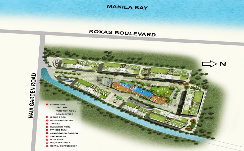 Bayport West NAIA Garden Residences - Site Development Plan
