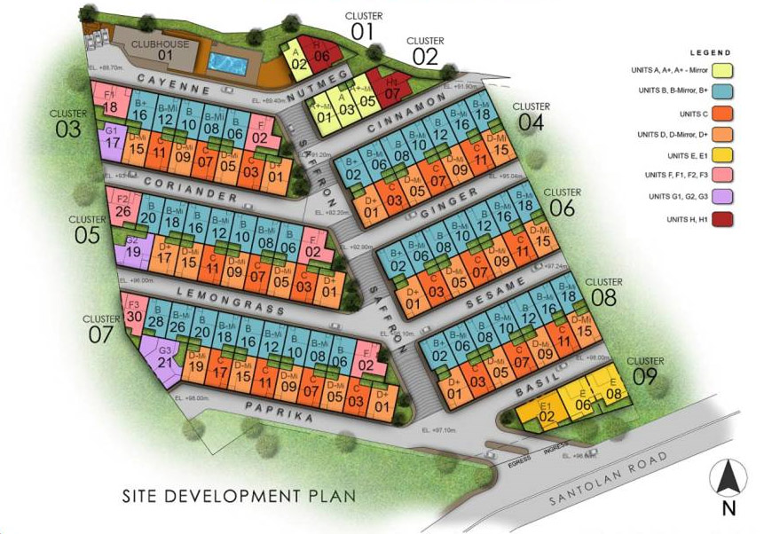 205 Santolan - Site Development Plan