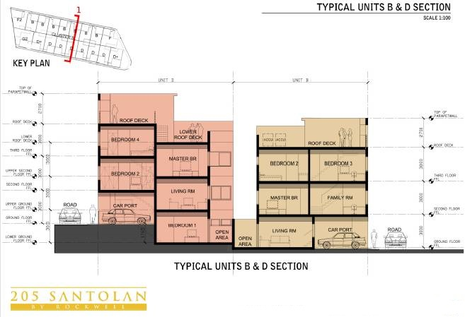 205 Santolan - Typical Units