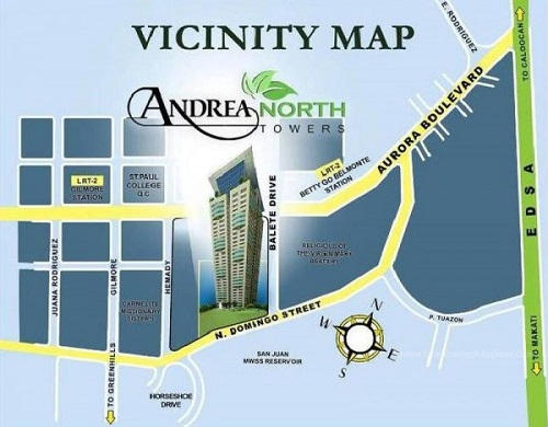 Andrea North - Location & Vicinity