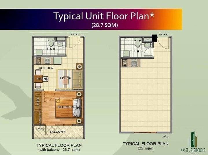 Kassel Residences - Unit Floor Plan
