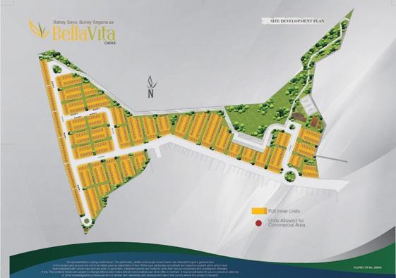 BellaVita Capas Tarlac - Site Development Plan