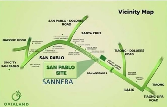 Sannera San Pablo - Location & Vicinity