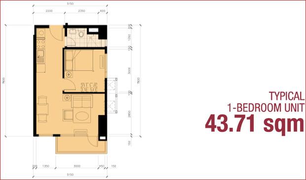 8 Adriatico - 1 - Bedroom Unit