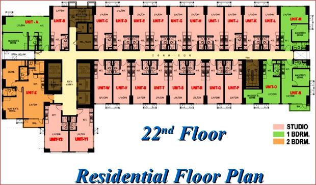 8 Adriatico - Residential Floor Plan