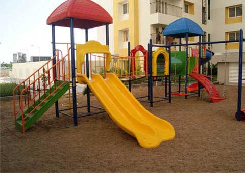 R Square Residences - Play Area