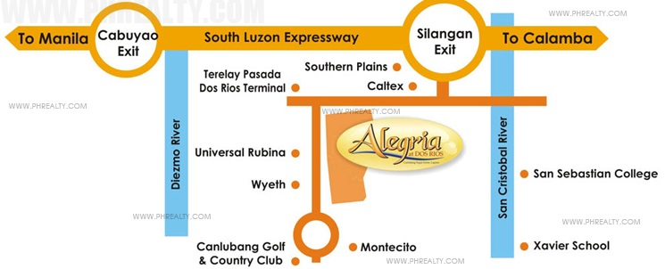 Alegria at Dos Rios - Location & Vicinity