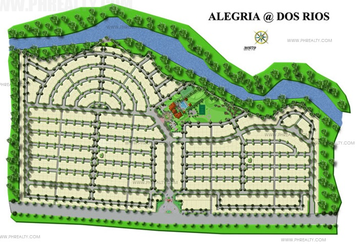 Alegria at Dos Rios - Site Development Plan
