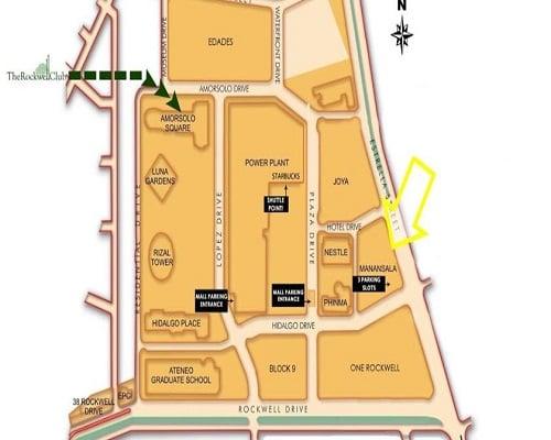 The Manansala - Location & Vicinity