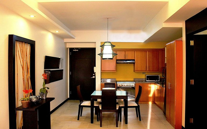 Fairways Tower - Kitchen with Dinning Area