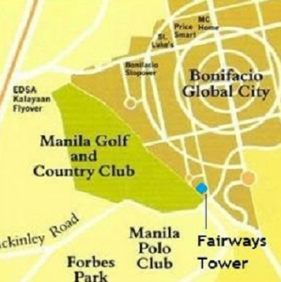 Fairways Tower - Location & Vicinity