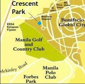 Crescent Park Residences - Location & Vicinity