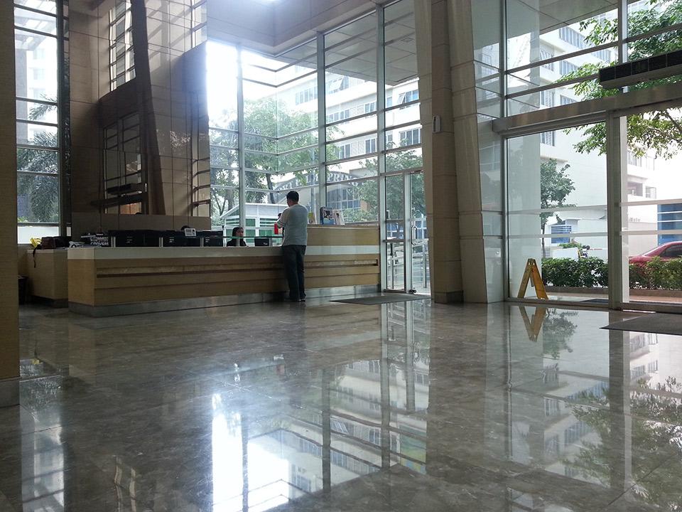 Crescent Park Residences - Reception Lobby