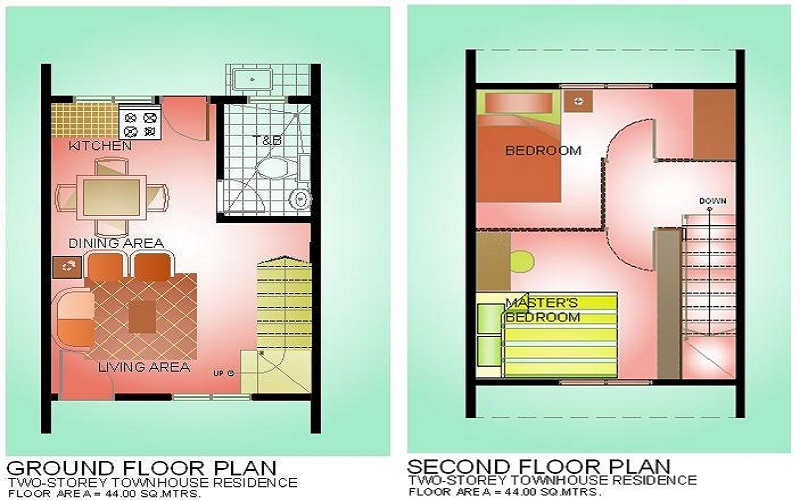 Ibiza Townhomes - Floor Plan