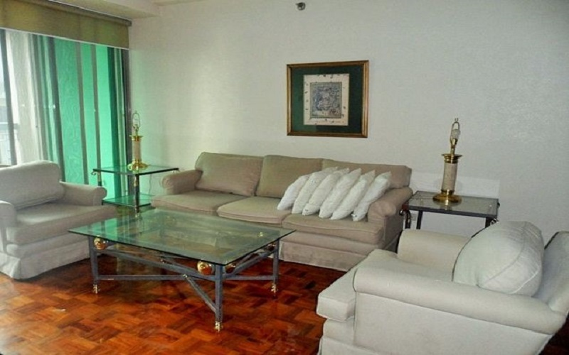 One Legaspi Park - Living Area