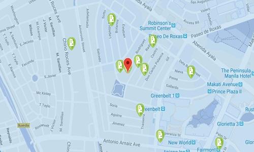One Legaspi Park - Location Map