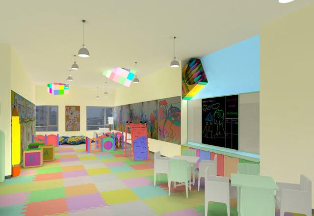 The Columns Legazpi Village - Kid's Playroom