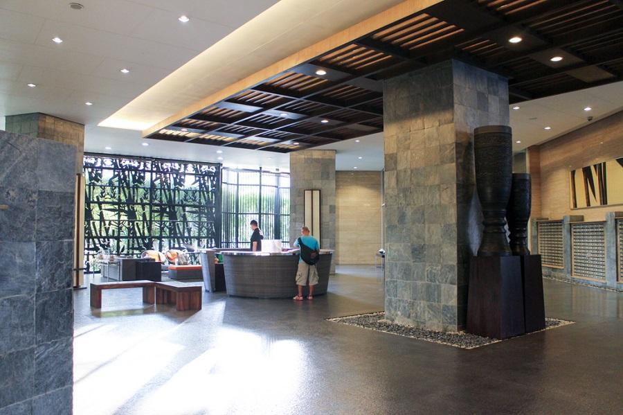 The Columns Legazpi Village - Reception Area
