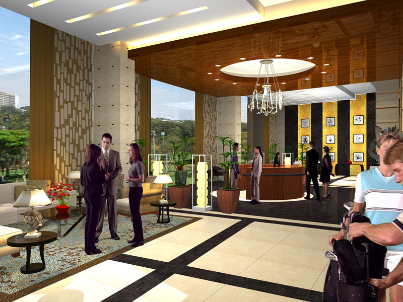 8 Forbestown Road - Reception Lobby