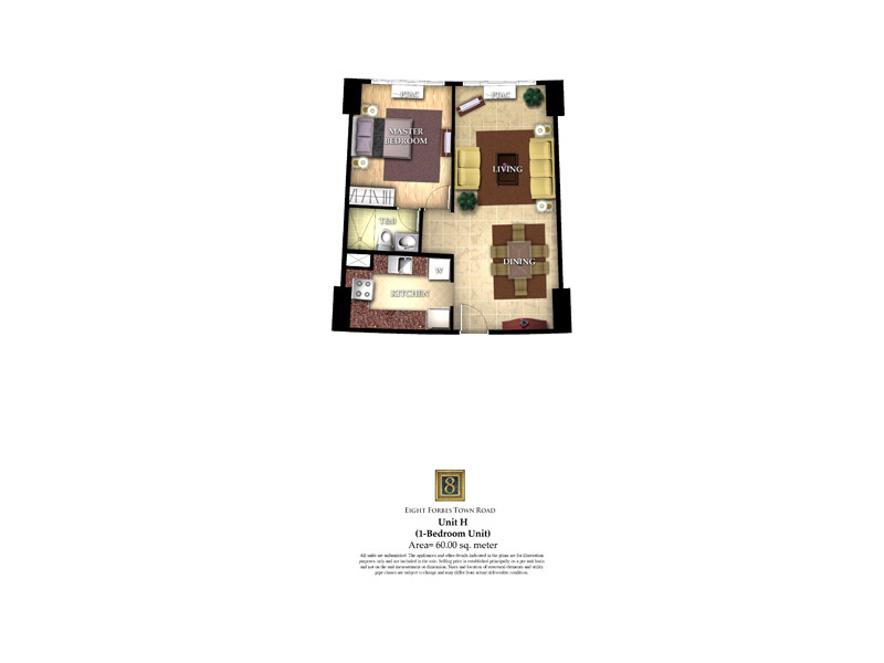 8 Forbestown Road - Unit H ( 1 - Bedroom Unit )