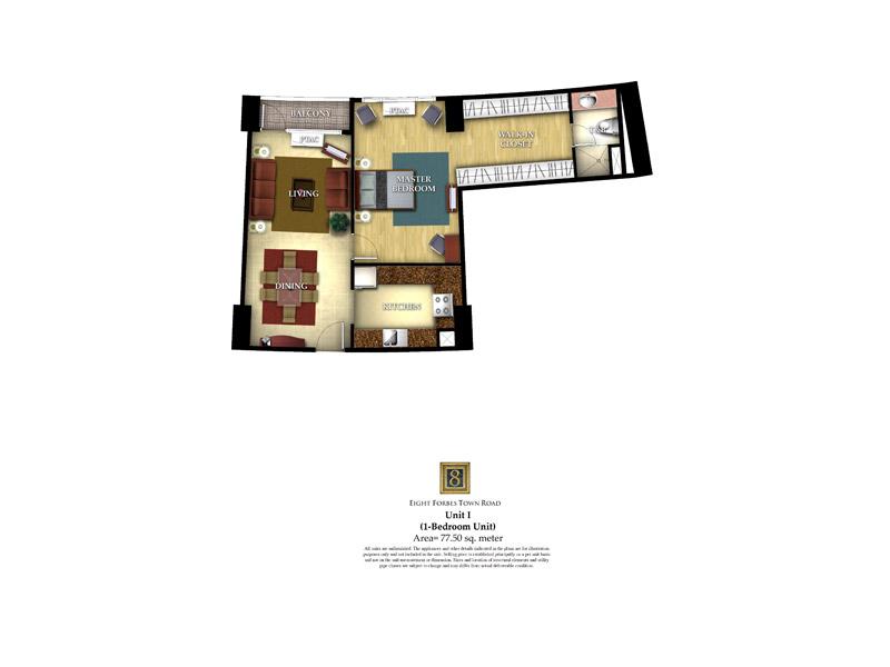 8 Forbestown Road - Unit I ( 1 - Bedroom Unit )