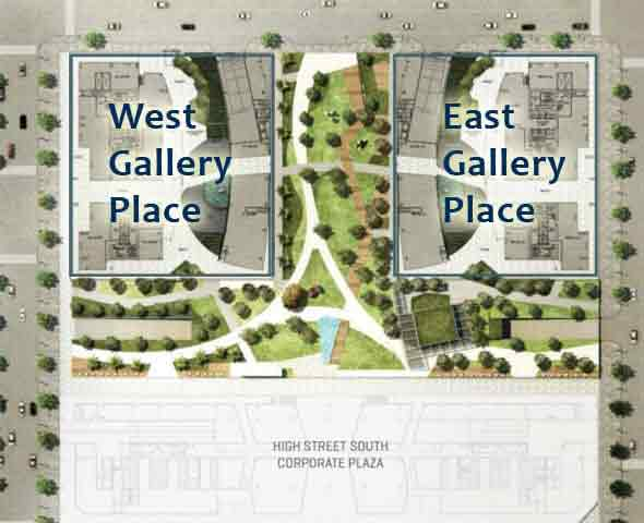 West Gallery Place - Site Development Plan