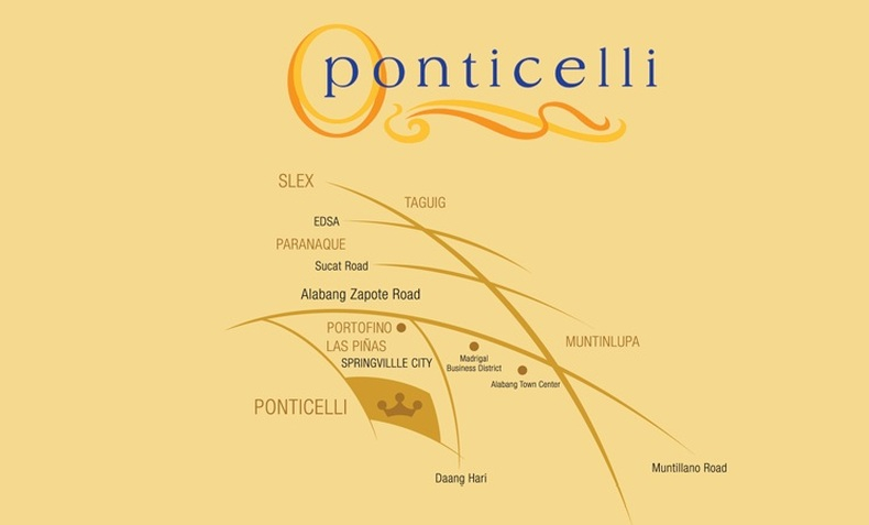 Ponticelli Subdivision - Location Map