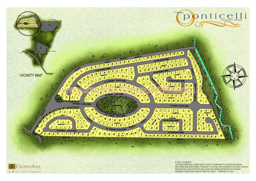 Ponticelli Subdivision - Site Development Plan- Phase 1