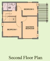 Ponticelli Subdivision - Second Floor Plan