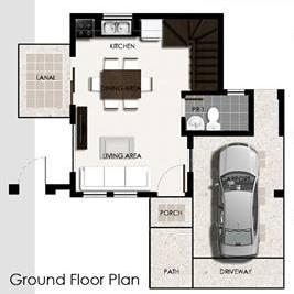 Ponticelli Subdivision - Ground Floor Plan