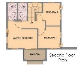 Ponticelli Subdivision - Second Floor Plan