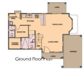 Ponticelli Subdivision - Ground Floor Plan