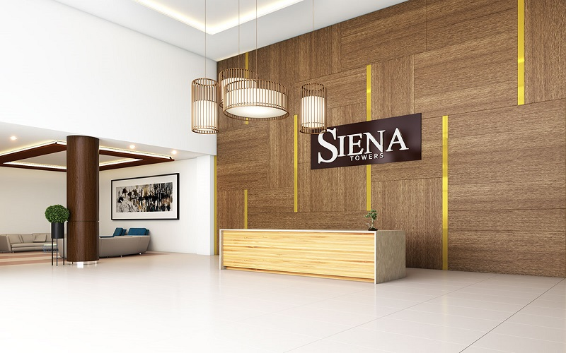 Siena Towers - Reception Area