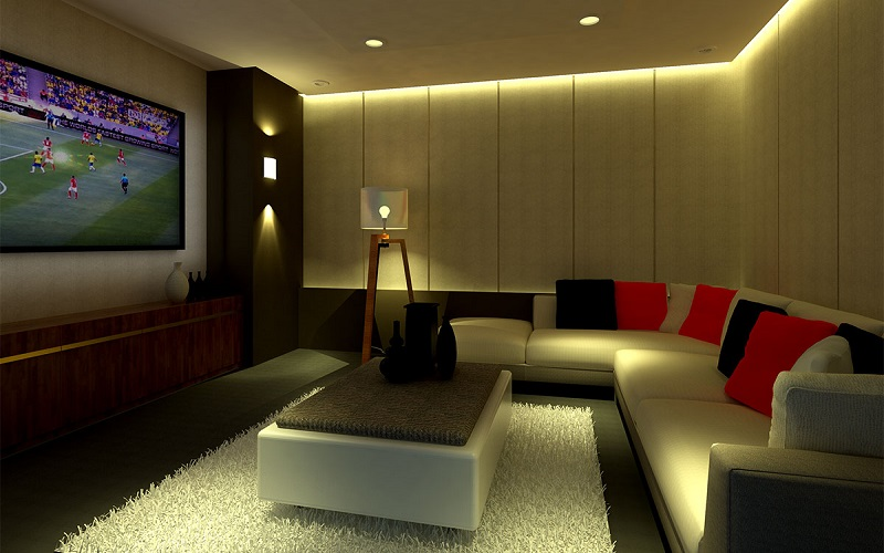 Siena Towers - Living Area