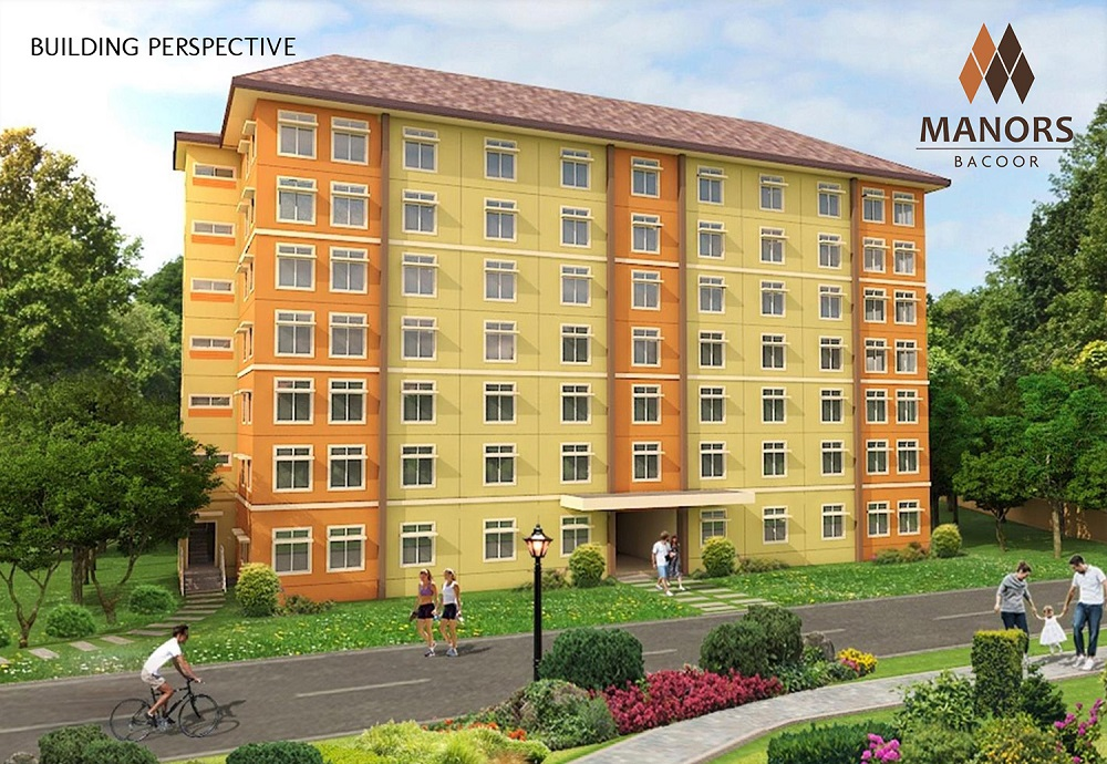 Manors Bacoor - Building Perspective