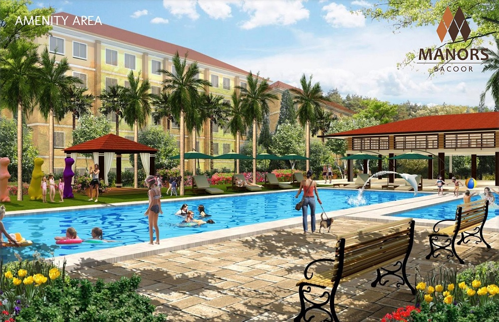 Manors Bacoor - Swimming Pool