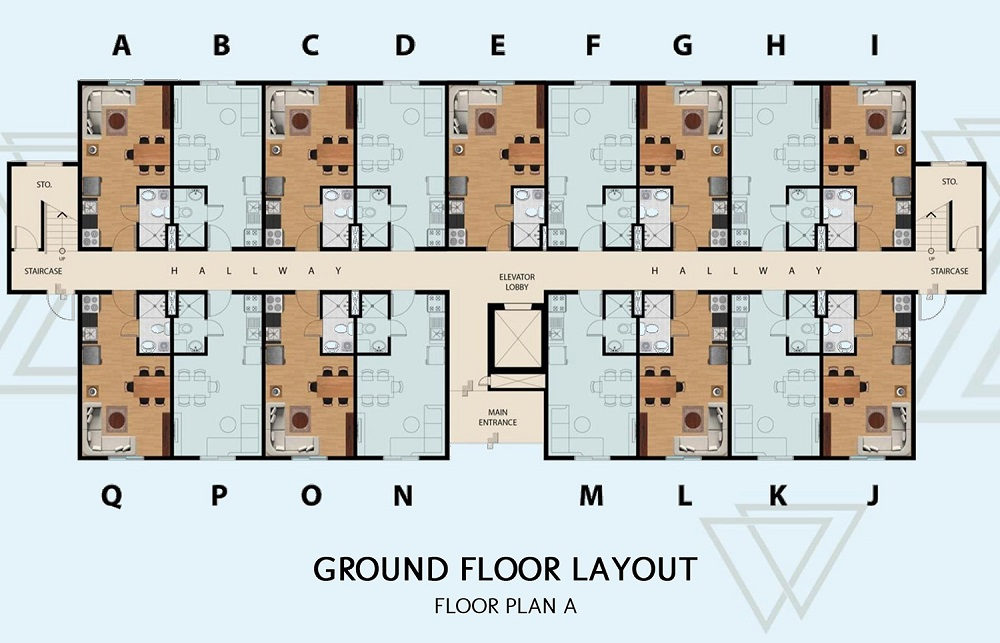 Manors Bacoor - Ground Floor Layout