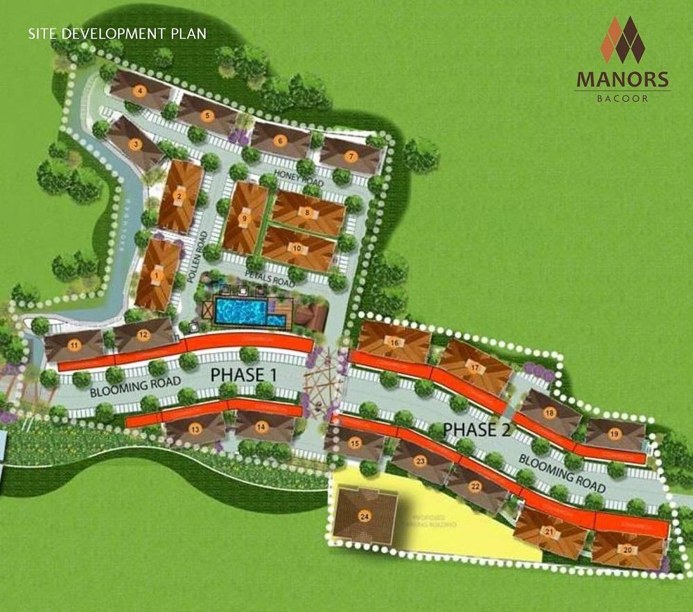 Manors Bacoor - Site Development Plan
