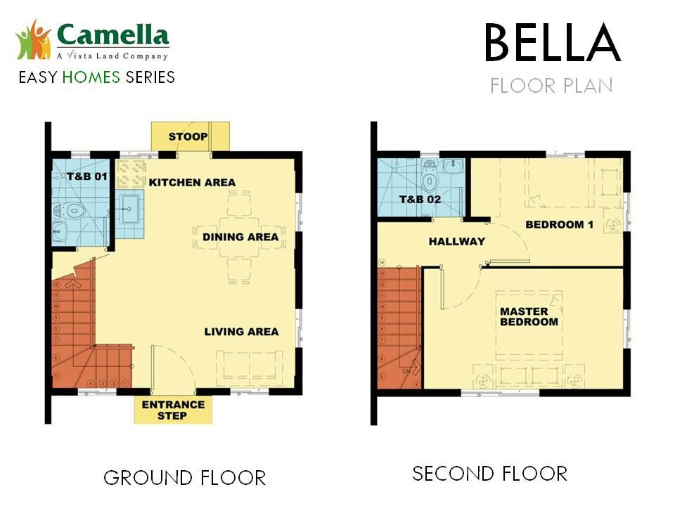 Agusan del Sur - Bella Floor Plan