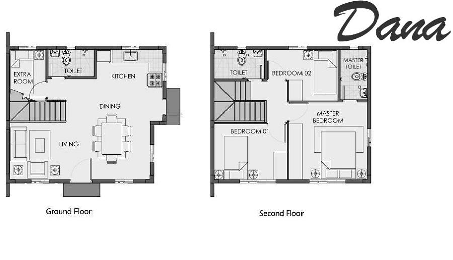Agusan del Sur - Dana Floor Plan