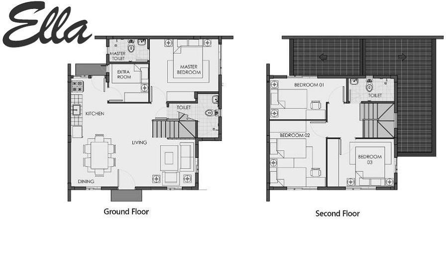 Agusan del Sur - Ella Floor Plan