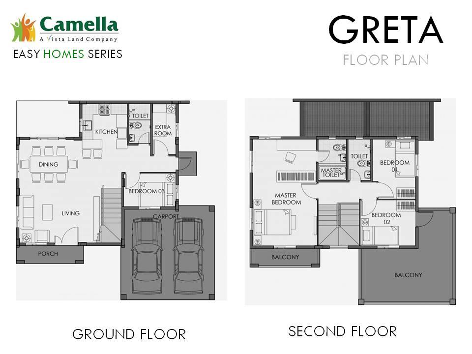 Agusan del Sur - Greta Floor Plan