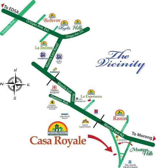 Casa Royale - Location & Vicinity