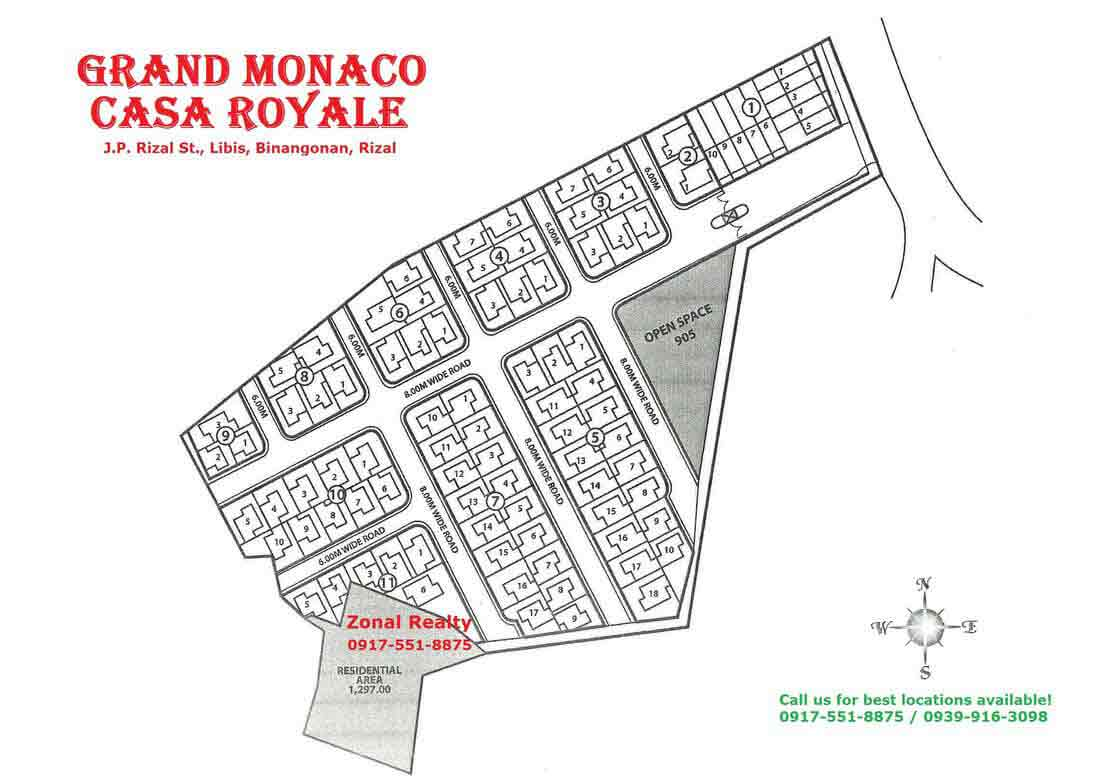 Casa Royale - Site Development Plan