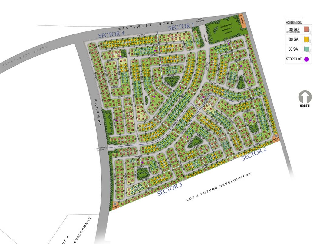 Avida Village Cerise  - Site Development Plan