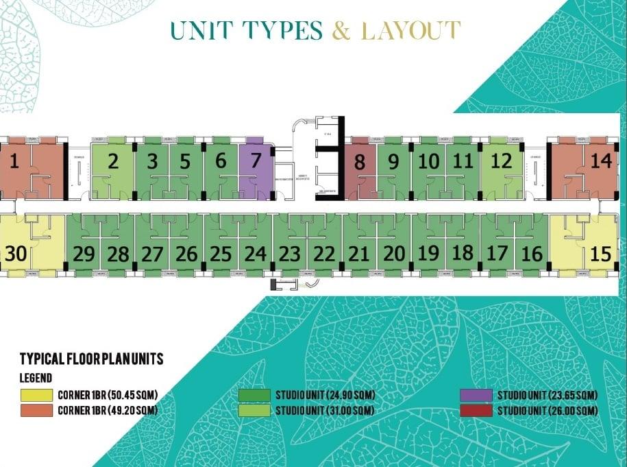 Zadia - Typical Floor Plan