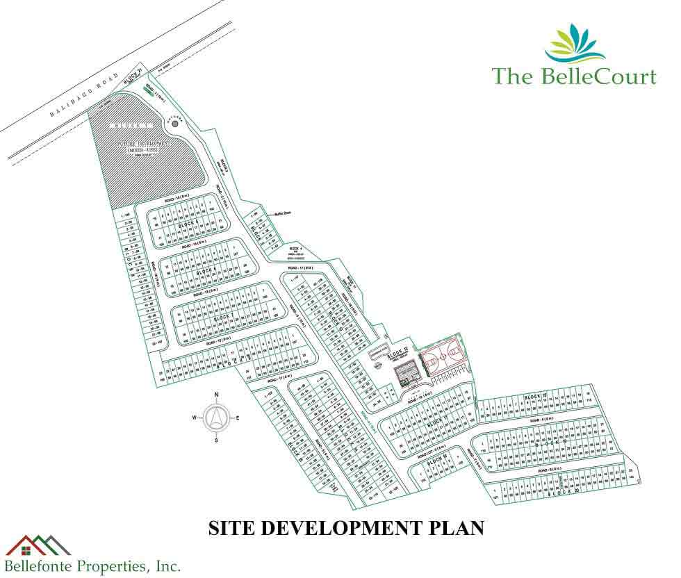The BelleCourt - Site Development Plan