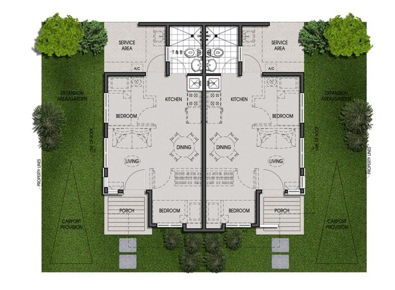Amaia Scapes Cagayan de Oro - Twin Pod Floor Plan