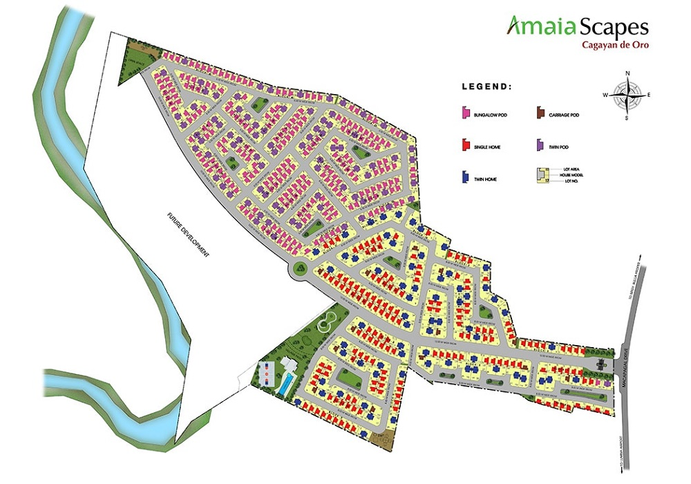 Amaia Scapes Cagayan de Oro - Site Development Plan